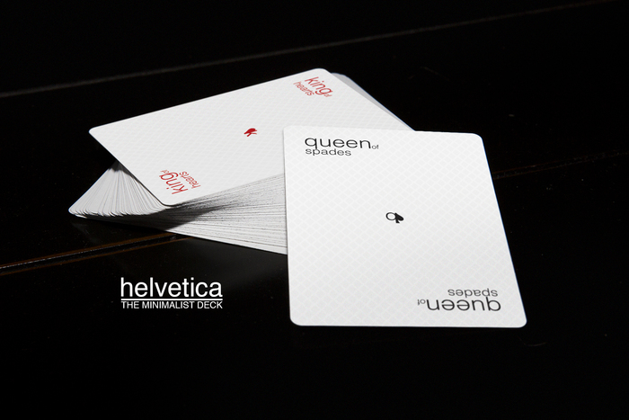 The Minimalist Deck: Helvetica 3