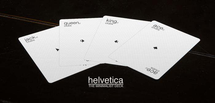 The Minimalist Deck: Helvetica 4