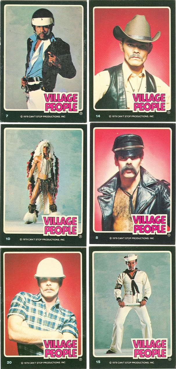 Village People trading cards 2