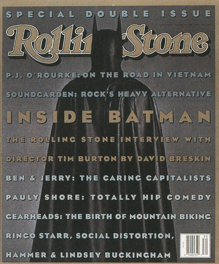 Rolling Stone, Batman Issue, 1993