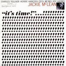 Jackie McLean – <cite>It's Time!</cite> album art