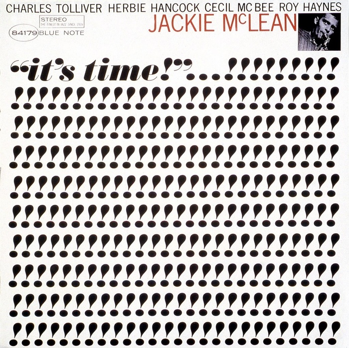 It's Time! by Jackie McLean