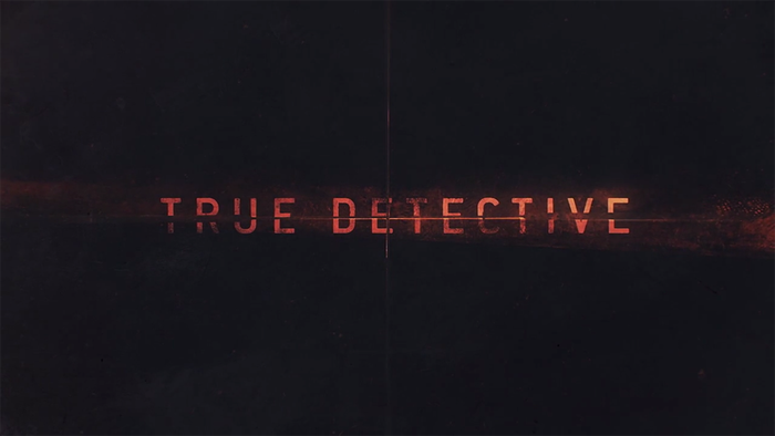 True Detective poster and title sequence 1