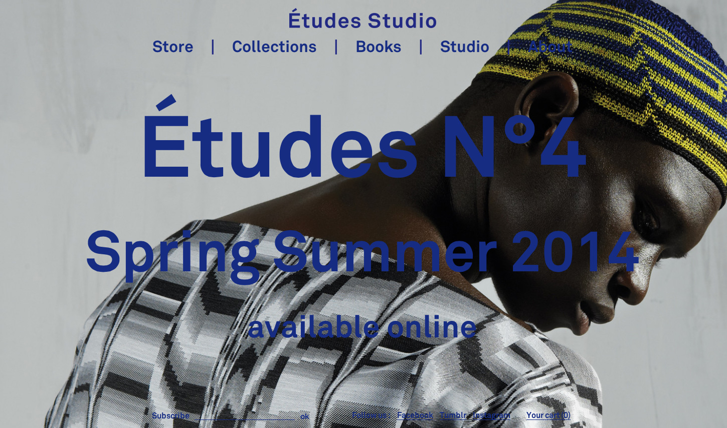 Études Studio - Fonts In Use