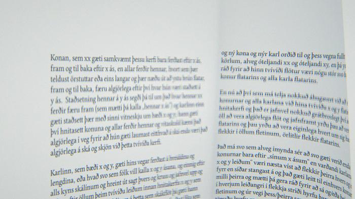 Af kynjum og víddum … og loftbólum andans by Pétur Örn Björnsson 5