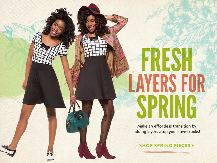 Fresh Layers for Spring at ModCloth 2