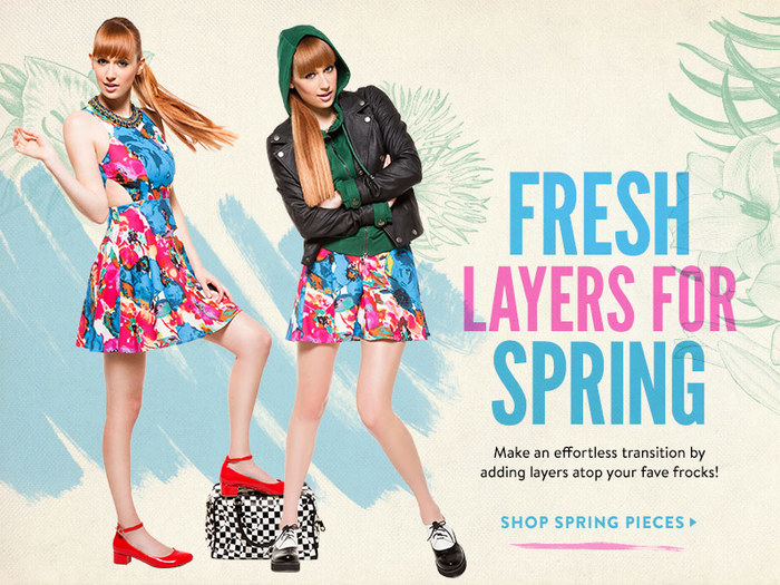 Fresh Layers for Spring at ModCloth 3