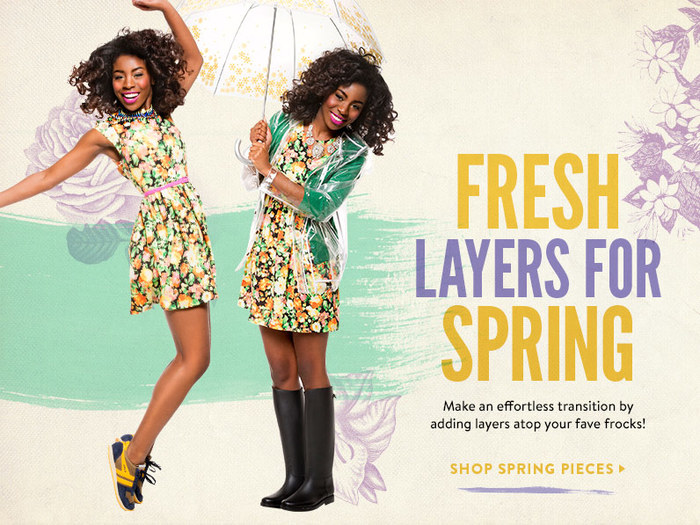 Fresh Layers for Spring at ModCloth 4