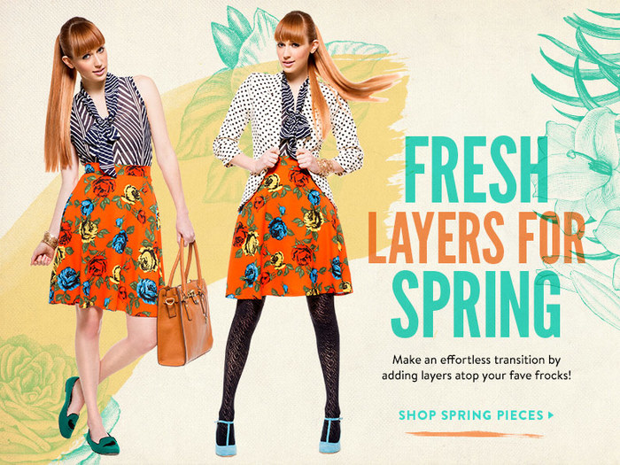 Fresh Layers for Spring at ModCloth 6