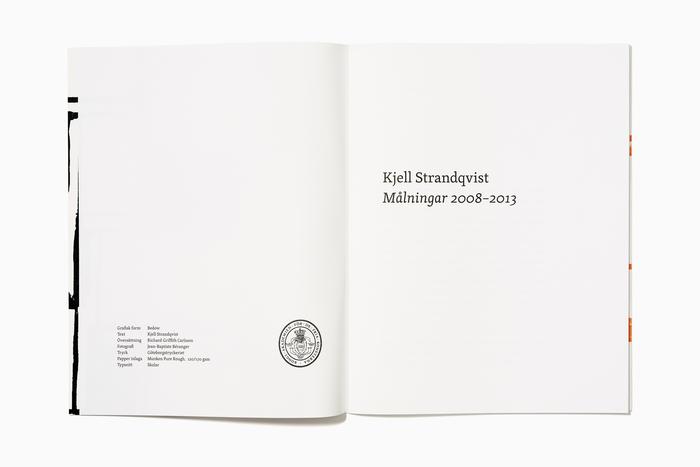 Kjell Strandqvist: Målningar 2008–2013 2