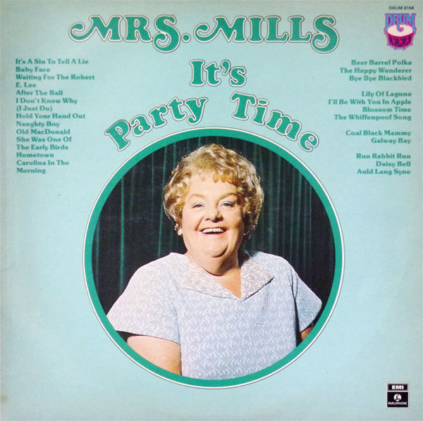 Mrs. Mills – It's Party Time, Australian pressing 1