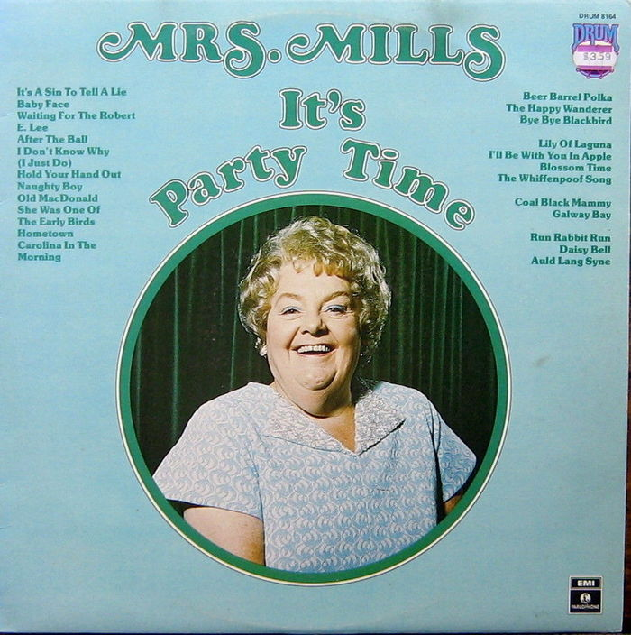 Mrs. Mills – It's Party Time, Australian pressing 2