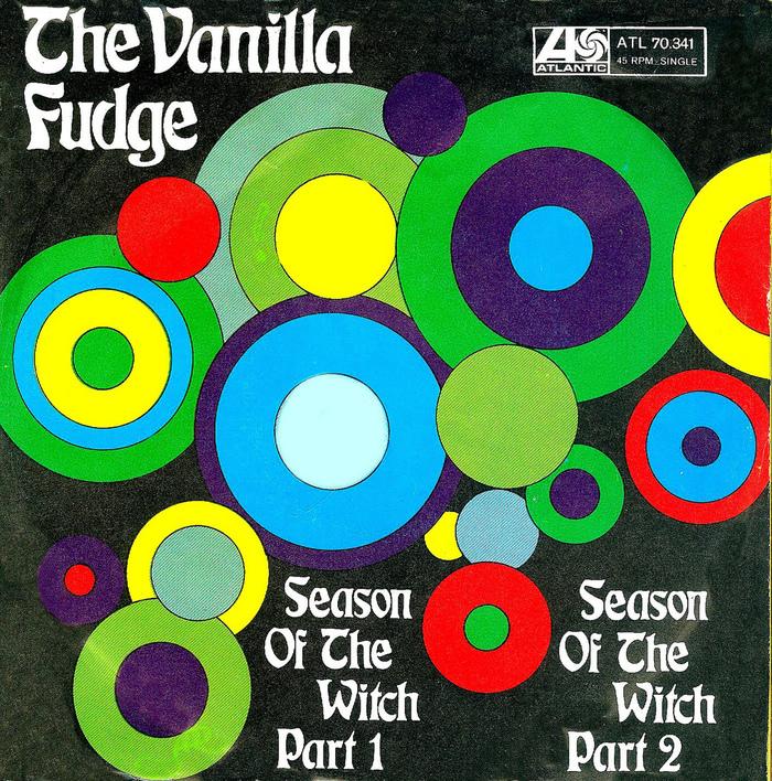 The Vanilla Fudge record covers 1