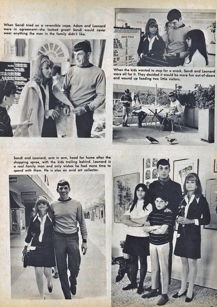 """Shopping with the Nimoy's"" 2"