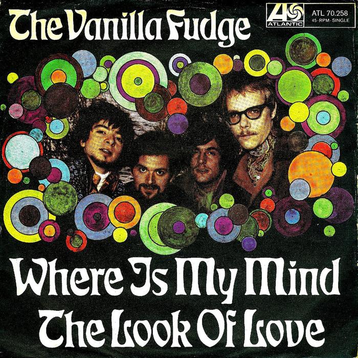 The Vanilla Fudge record covers 2