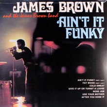James Brown – <cite>Ain't it Funky</cite> album art