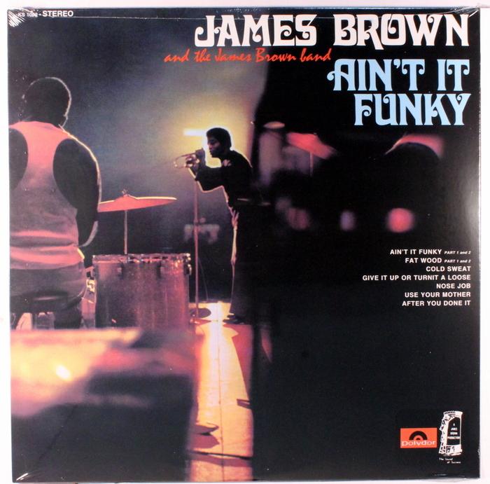 James Brown – Ain't it Funky album art