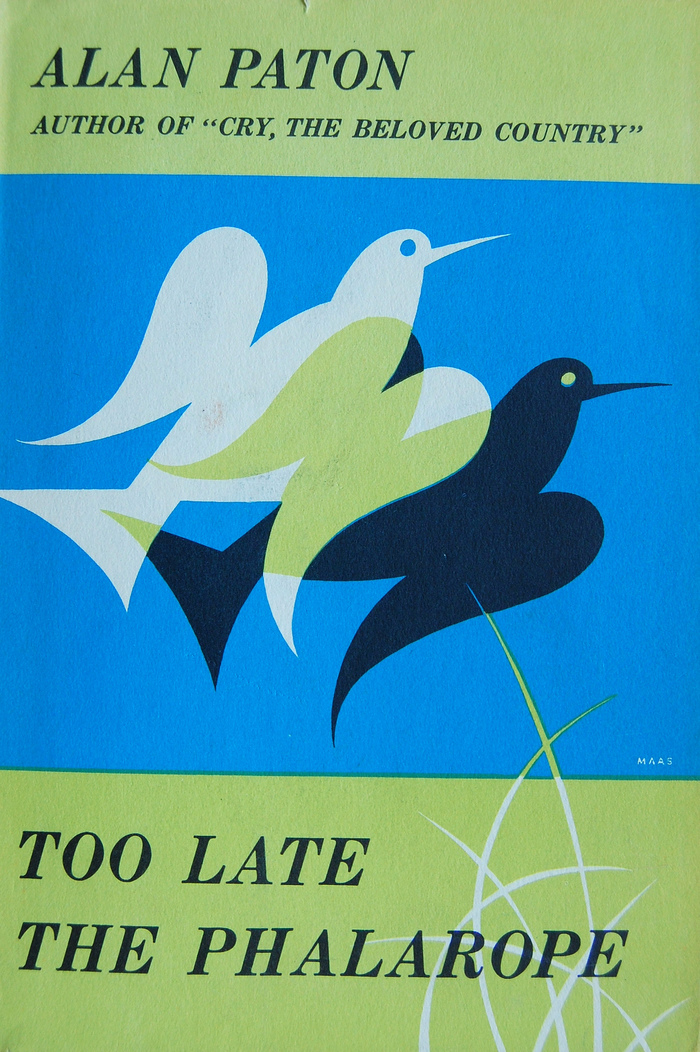 Too Late the Phalarope, 1st US edition 1
