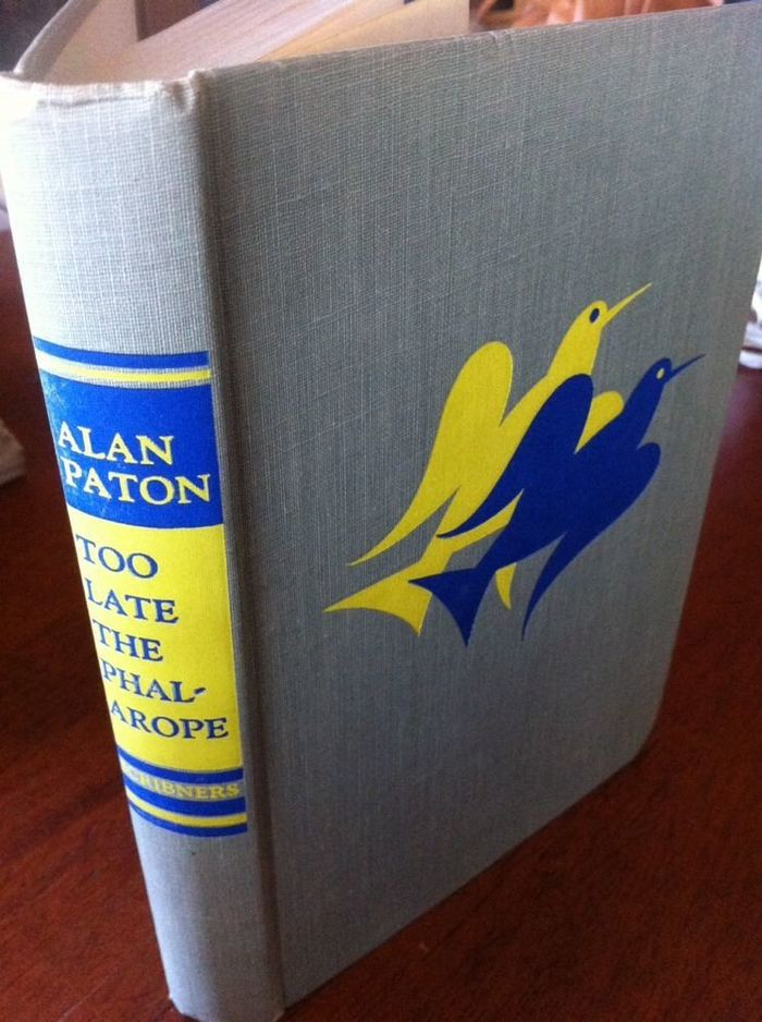 Too Late the Phalarope, 1st US edition 2