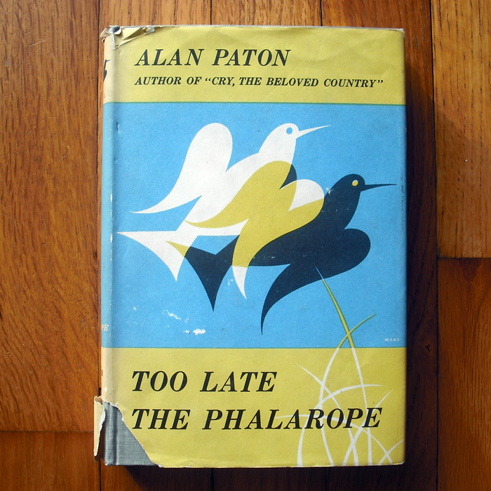 Too Late the Phalarope, 1st US edition 4