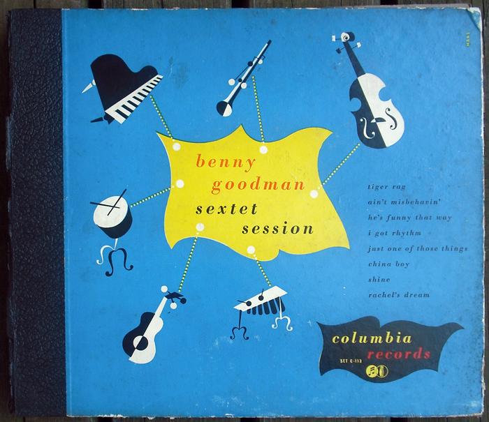4×10″ shellac records album (C-113). [More info on Discogs]