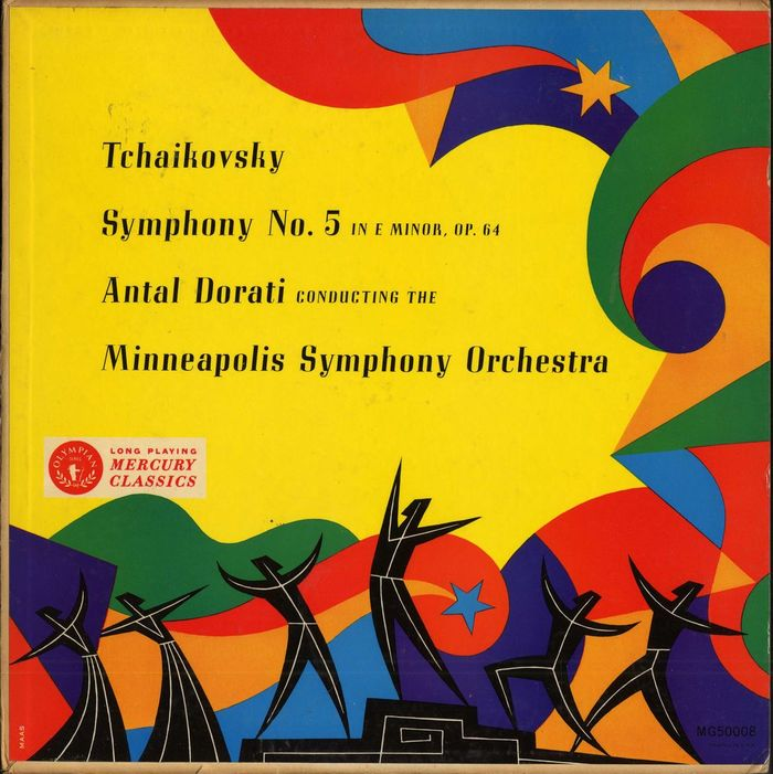 Antal Dorati, Minneapolis Symphony – Tchaikovsky Symphony No. 5 album art