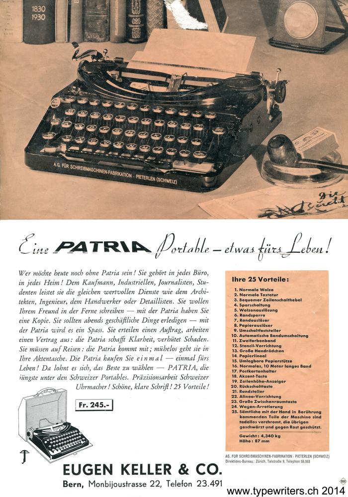Patria ad (1936)