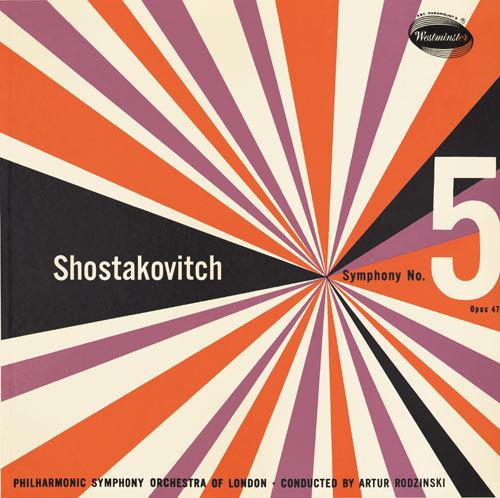 Shostakovitch Symphony No. 5 album art