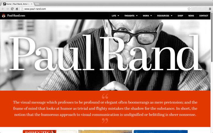 Paul Rand tribute 1