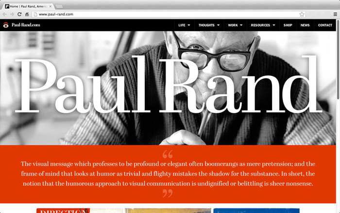 Paul Rand tribute 1