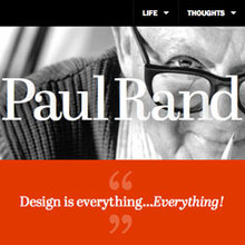Paul Rand tribute