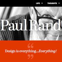 Paul Rand tribute