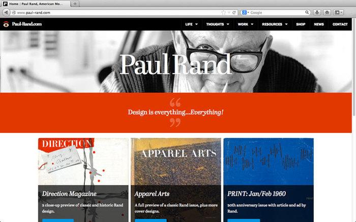 Paul Rand tribute 2