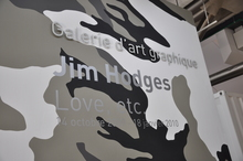 <cite>Jim Hodges: Love, etc.</cite> at Galerie d'art graphique