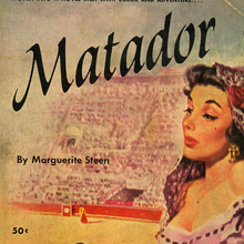 <cite>Matador</cite> by Marguerite Steen