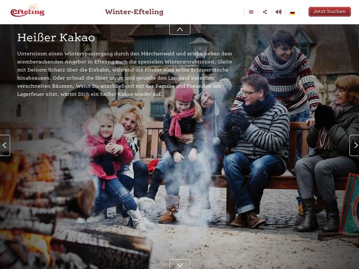 Efteling website 2