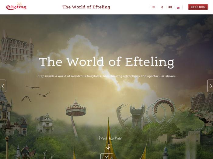 Efteling website 3