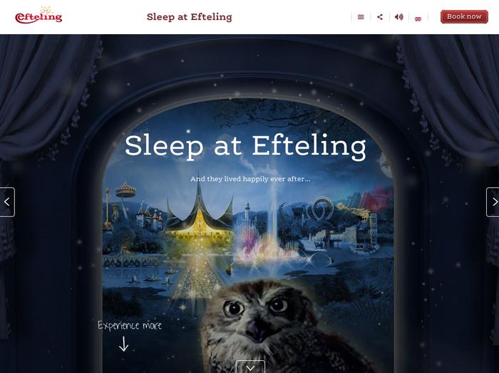 Efteling website 5