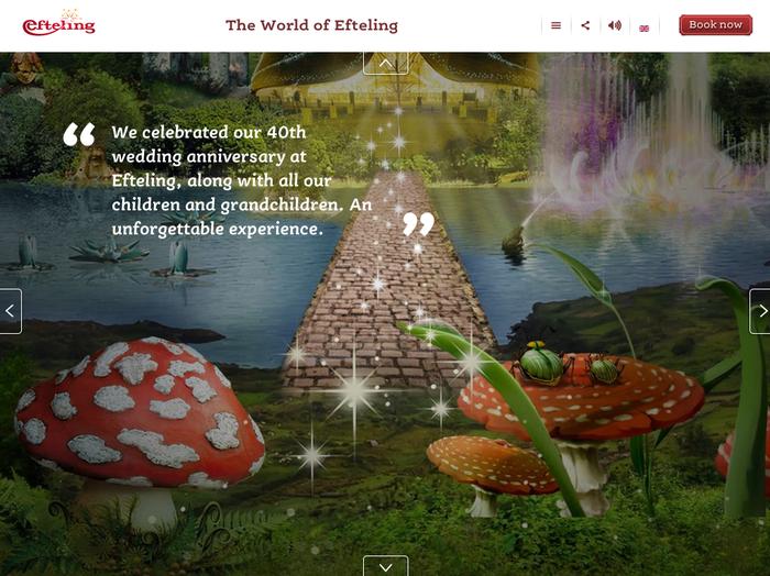 Efteling website 6