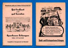 """""""Gut bedient und gut beraten"""", Sparkasse Erlangen ads"""
