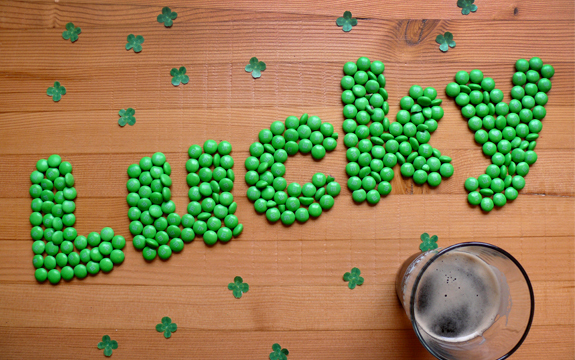 Type Tasting: Feelin' Lucky for St Paddy's
