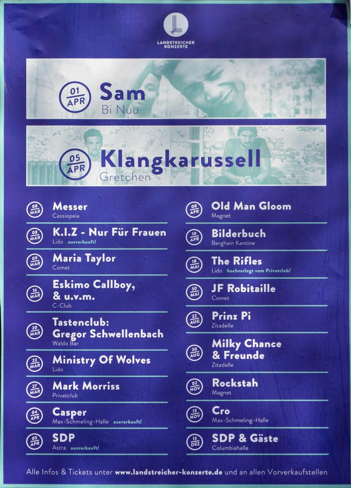 Landstreicher Konzerte 1