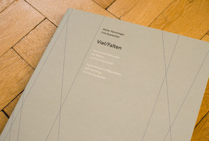 Viel/Falten. Experimental Configurations with Paintings by Fritz Ruprechter 1