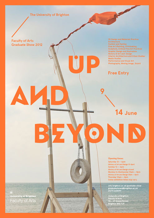 Up and Beyond – University of Brighton's 2012 Graduate Show 1