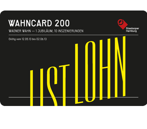 "The ""Wahncard 200"" is a tongue-in-cheek allusion to BahnCard 100, Deutsche Bahn's bonus card for frequent train travellers."