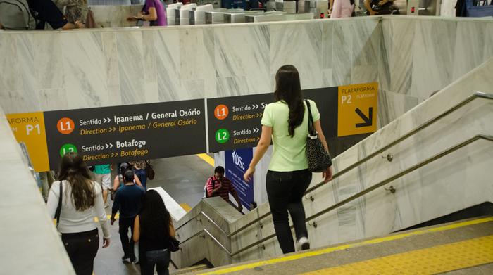 Metro Rio Signage 4
