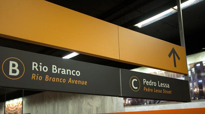 Metro Rio Signage 5