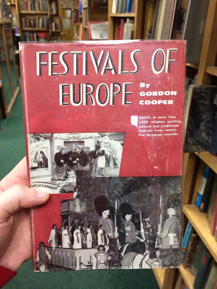 Festivals of Europe by Gordon Cooper