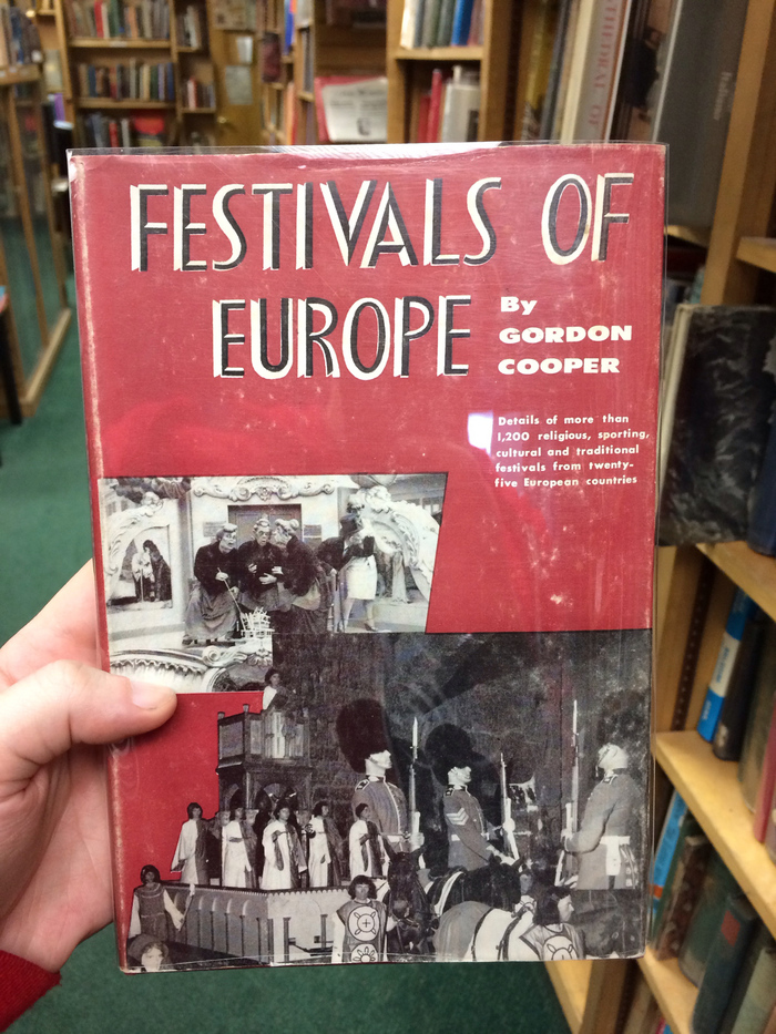 Festivals of Europe by Gordon Cooper