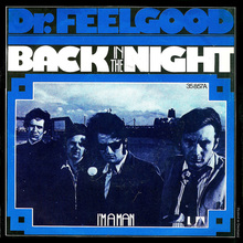 "Dr. Feelgood – ""Back In The Night"" / ""I'm A Man"" German single sleeve"